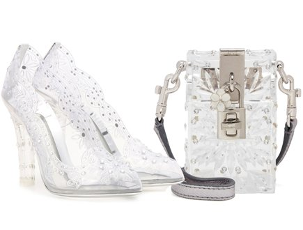 Dolce and Gabbana Cinderella Shoes, Fashion Brands Outlet