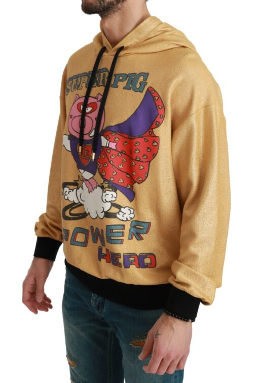 Gold Pig of the Year Hooded Sweater, Fashion Brands Outlet