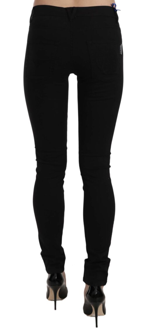 Black Tiger Logo Gabardine Stretch Slim-Fit Pant, Fashion Brands Outlet