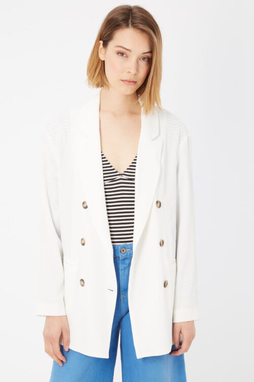 Bianco White Suits & Blazer, Fashion Brands Outlet