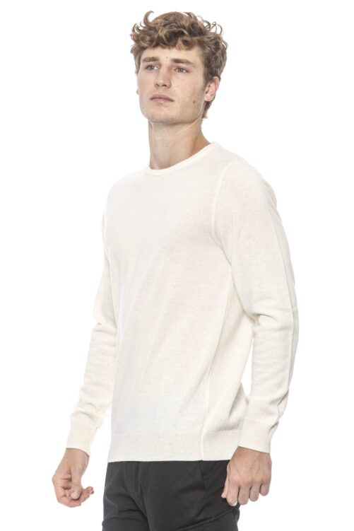 Bianco White Sweater, Fashion Brands Outlet