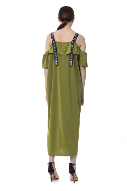 Army Long Sleeveless Dress, Fashion Brands Outlet