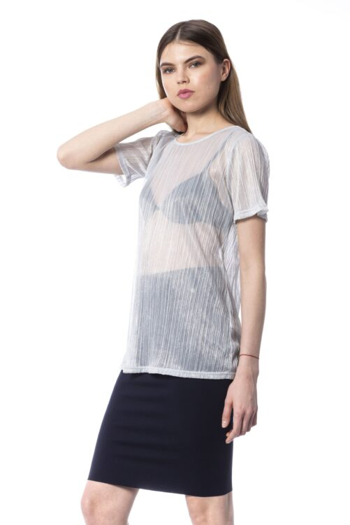 Silver Tops & T-Shirt, Fashion Brands Outlet