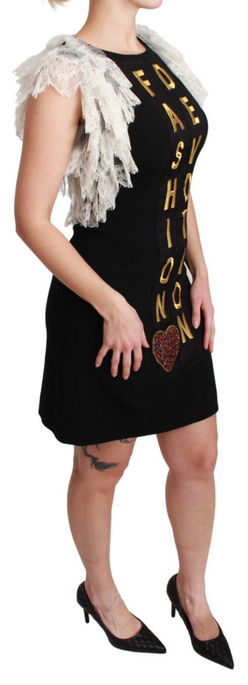 Black Fashion Devotion Sheath Mini Dress, Fashion Brands Outlet
