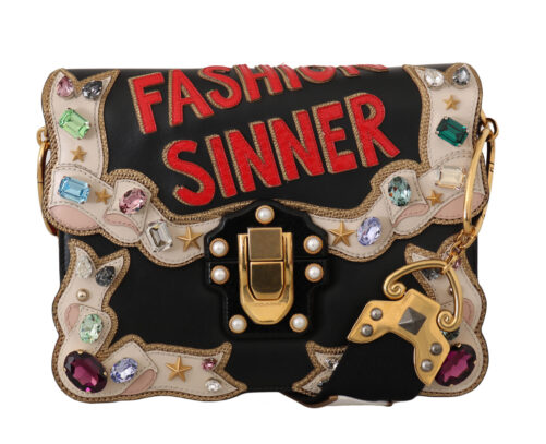 Leather Crystal Fashion Sinner LUCIA Purse, Fashion Brands Outlet